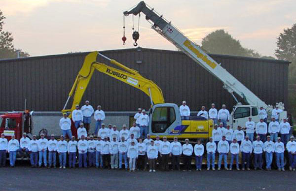 Campbell Construction team